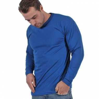 Grote maten shirt lange mouwen 4XL