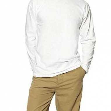 Kleding B&C T-shirt lange mouwen